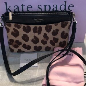 NWT Kate Spade Marqaux Haircalf Crossbody